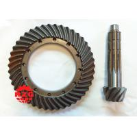 China Agricultural Machinary Gleason Spiral Bevel Gear of High Hardness 20CrMnTi on sale