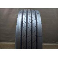 Cheap Rib Type Pattern 11R 22.5 Truck Tires Four Straight Grooves Tread Tear Resistance wholesale