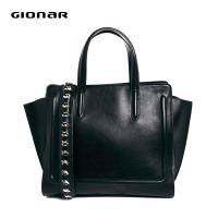 Cheap Studed Leather Shoulder Strap Hanbag , Women Totes Bags For Weekend wholesale