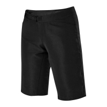 Buy cheap 4 Ways Stretch Plain Black Mountain Bike Downhill Shorts from wholesalers