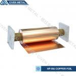 Cheap High Conductivity Surface Degreasing Copper Foil Roll , Tolerances ±0.001 wholesale