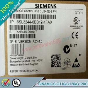 Cheap SIEMENS SINAMICSG110/G120/G120C 6SL3211-0AB13-7UA1/ 6SL32110AB137UA1 wholesale
