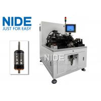 Buy cheap Two Station Semi Auto Armature Balancing Machine , Rotor Industrial Balancing Machine from wholesalers