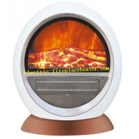 Cheap Enery power PTC Material Free Standing Electric Fireplace 1500W For Room wholesale