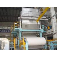 Cheap Toilet paper machine, 1-2T/D, raw material: waste paper,pure pulp wholesale