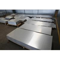 Cheap 200mm Polished Stucco Embossed Anodized Aluminum Plate wholesale
