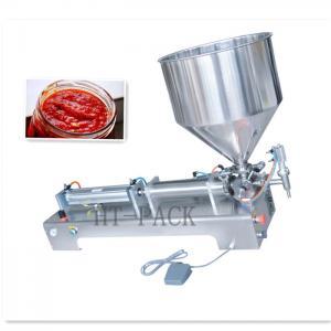 Cheap 50-1000ml Capacity Semi-Automatic Filling Machine For Food / Pesticide Vials Liquid wholesale