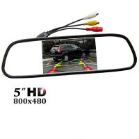 """Buy cheap Easy Installation Car Rear View Mirror Monitor 5"""" TFT - LCD Display Screen from wholesalers"""