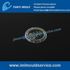 Cheap 4 cavities IML thin wall injection mold, Precise plastic IML thin wall mold, IML moulding wholesale