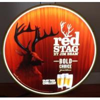 Cheap Jim Beam Red Stag Whiskey Led Light Up Sign Buck Deer Game Room Man Cave wholesale