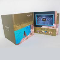 Cheap 3D Audio LCD Touch Screen Video In Print Brochure HD Greeting Card For Business wholesale