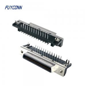 Cheap 14P 26P 50P Female Right Angle PCB SCSI Connector For PCB Board wholesale