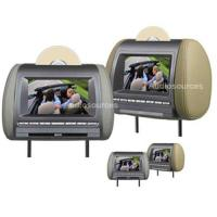 """Buy cheap 7"""" car Headrest slot-in DVD player with MP4/ USB/SD/MMC/FM/IR transmitter from wholesalers"""