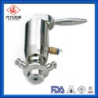 Cheap Butt Welded 	Tri Clamp Sample Valve Manual  Control Aseptic Sampling Valve wholesale