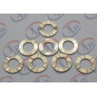 Cheap Precision CNC Machining Services , Brass Flat Washers with Ra 1.6 Roughness wholesale