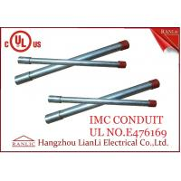 "Quality Hot Dip Rigid Intermediate Metal Conduit IMC Conduit Pipe 1/2"" to 4"" UL Listed for sale"