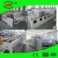 China non-stop toilet paper machine and the log accumulator on sale
