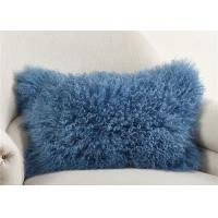 """Luxury 100% Real Mongolian Fur Pillow For Home Bedroom Decorative 12"""" X 20"""""""