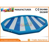 Cheap Hot welding 0.9mm PVC Tarpaulin Inflatable Pool Slides For Inground Pools wholesale