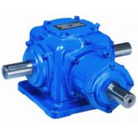 Cheap Double Output Shaft Spiral Bevel Gear Reducer Angle Transmission Gearbox Efficiency wholesale