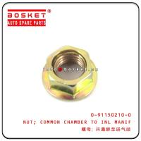 Cheap 0-91150210-0 0911502100 Isuzu Engine Parts Common Chamber To Inlet Manifold Nut For 4JB1 NKR55 wholesale