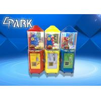 China coin operated kids play lollipop gift vending catch candy game machine on sale