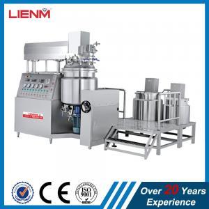 Cheap Cosmetic Vacuum Emulsifying Mixer Cream Mixing Machine 500L 300L 200L 100L 1000L wholesale