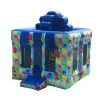 Quality Plato Commercial Bouncy Castles Birthday Gift Box Inflatable Jump House for sale