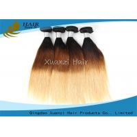 Buy cheap WholesaleBeauty Skin CarePeru Hair Bundle, T1B / 27 Ombre Remy Hair,LadiesHairExtension Guarantee Quality from wholesalers