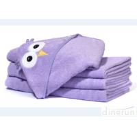 Dingrun Newborn Hooded Towel Large , Infant Bath Towel Hooded