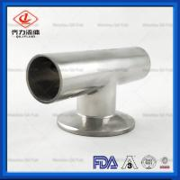 Cheap 3A Stainless Steel Sanitary Pipe Butt Weld Fittings Tee With WWC End wholesale
