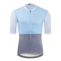 Buy cheap 2020 Short Sleeve Custom Bike Jersey With Stretchable Material from wholesalers
