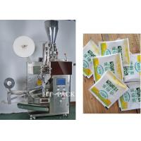 Cheap 1-10g Tea Sachet Packaging Machine 40-60 bag/min And With Tag wholesale