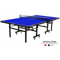 China Top Quality Sport Equipment Single Folding Indoor MDF Table Tennis Tables For Sale on sale