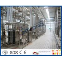 Cheap Multifunctional Milk Production Machinery For Pasteurized UHT Milk / Cream / Butter wholesale