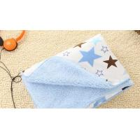 Cheap Flame Retardant Waterproof Printed Knitted Polyester Baby Blanket Baby Swaddler Blanket wholesale