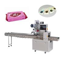 China High Speed Flow Wrap Machine Paper Tissue Napkin Packaging CE  ISO SGS on sale