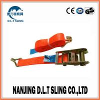 Buy cheap ratchet tie down Accroding to EN1492-1, ASME B30.9, AS/NZS 4380 Standard, CE,GS from wholesalers