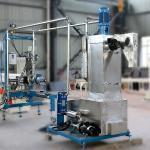 Cheap Compound Granules PE Pellet Making Machine , 500Kg / H Underwater Pelletizing System wholesale