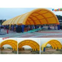 Cheap Waterproof Air Tight Inflatable Party Tent For Wedding Exhibition Yellow wholesale