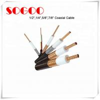 Cheap Coaxial Cable 1/2 3/4 7/8 RF Feeder Cable For Telecom RoHS Approval wholesale