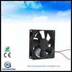 Cheap 3D Printer 12V DC Axial Fan , CPU PWM Signal Cooling Fan 80mm x 80mm x 25mm wholesale