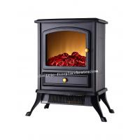 Cheap Home Use Flueless 1500W Free Standing Electric Fireplace , Contemporary Electric Fireplace wholesale
