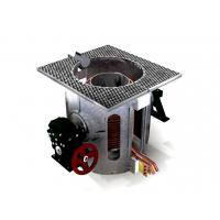 China Electric Heating Copper Melting Furnace , Automatic Tilting Copper Melting Machine on sale