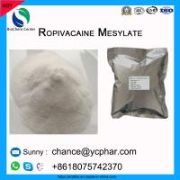 Cheap Amide Local Anesthetic API Ropivacaine Mesylate Powder For Relieve Pain CAS 854056-07-8 wholesale
