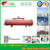 Cheap Bucket central heating boiler mud drum ISO9001 wholesale