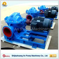 Cheap heavy salted high capacity centrifugal split case water pump wholesale