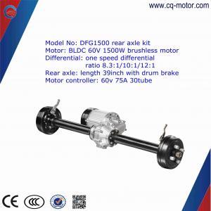 Cheap drum brake/disc brake 33 inch India Eletric Vehicle Rear Axle for E-rickshaw wholesale