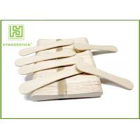 Cheap 94Mm Ice Cream Wooden Sticks , Ice Cream Distributor Hot Stamping Logo wholesale