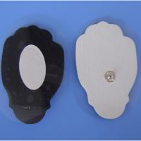 Cheap no stimulation,no allergy Non-woven palm-type snap electrode chip,electrode pad wholesale